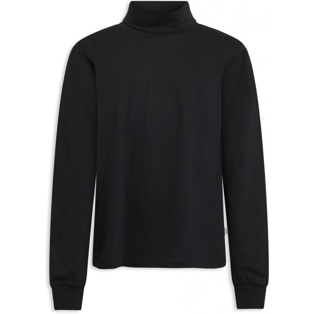 Wilber roll neck - black