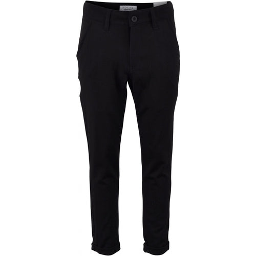 Hound-WIDE FASHION PANTS-2191106-BLACK