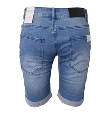 Indlæs billede til gallerivisning Hound-STRAIGHT SHORTS - L.DENIM-2200300-LIGHT USED DENIM
