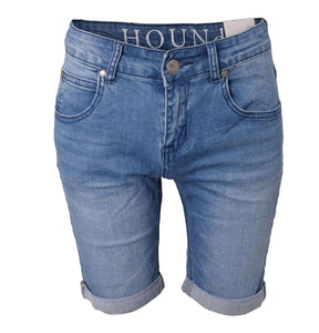 Hound-STRAIGHT SHORTS - L.DENIM-2200300-LIGHT USED DENIM