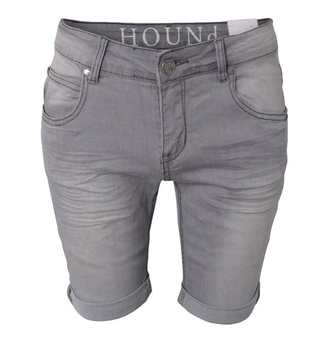 BadStore - Hound Straight Shorts - light grey