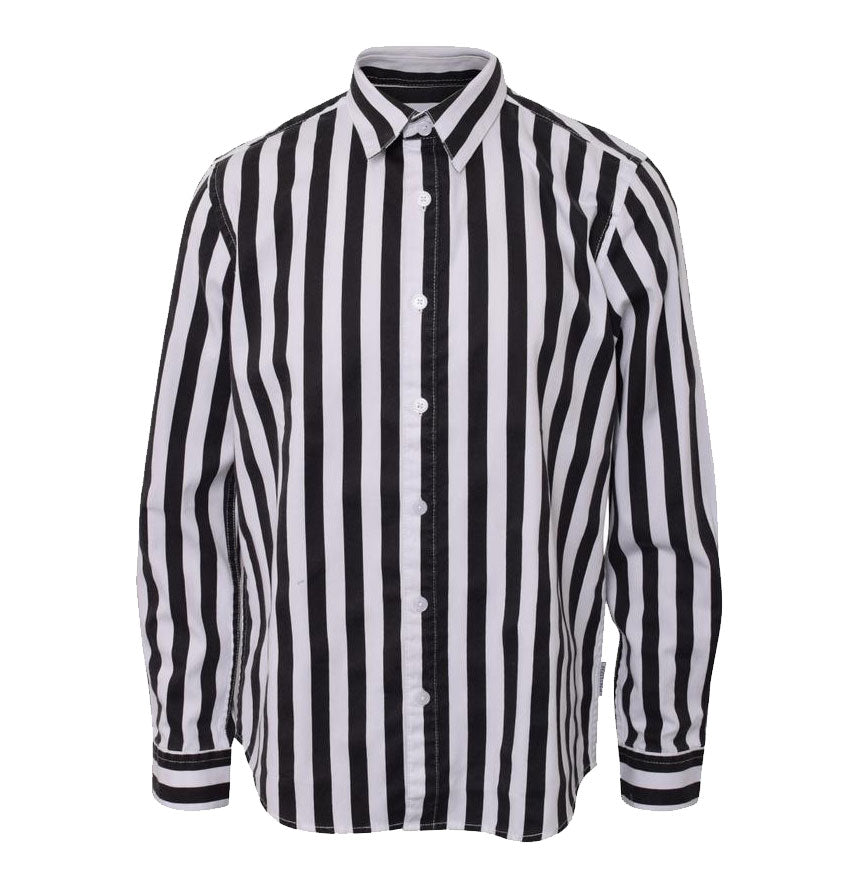 Hound-STRIPE SHIRT-2200210-BLACK STRIPE