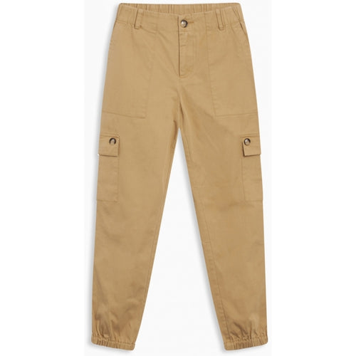 Grunt-ALMA CARGO ANKLE PANT-2013-120-CAMEL