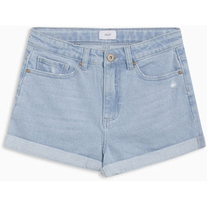 MOM SHORTS PALE LT. BLUE