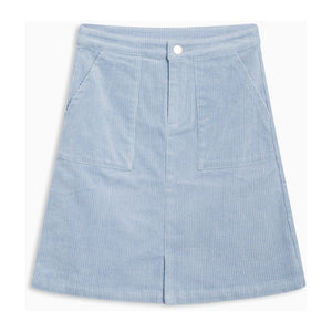 Grunt-HELIN CORD SKIRT-2013-105-BABY BLUE