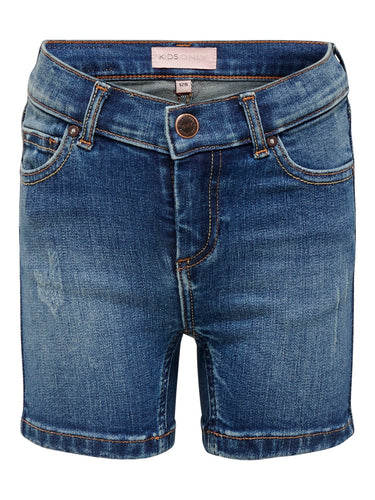 Only-denim shorts-15201450-MEDIUM BLUE DENIM