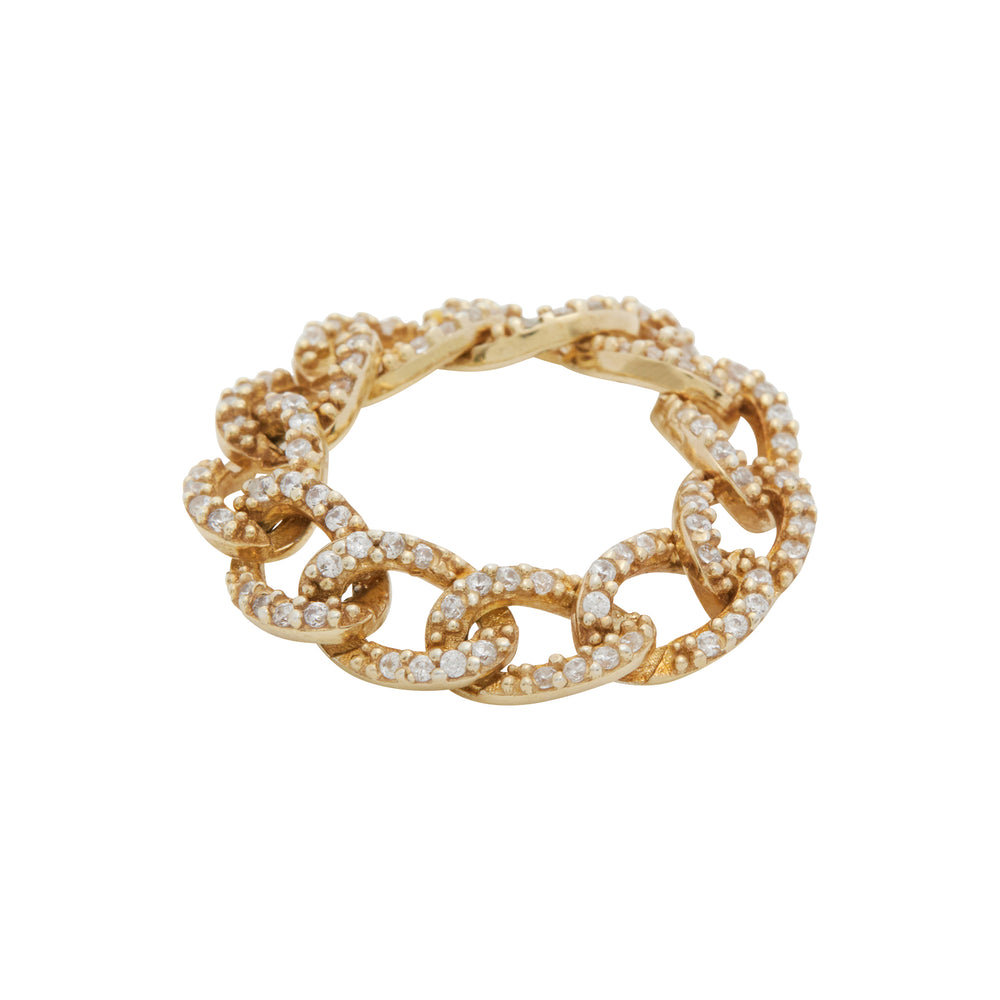 Bague Cuban Chain - Joleen Jwly