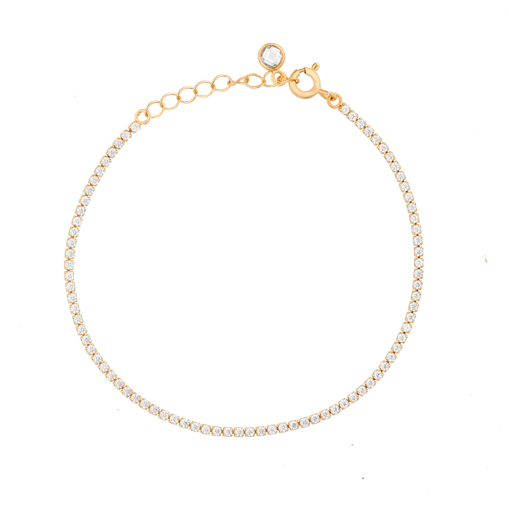 Bracelet Cubed Chain or jaune - Joleen Jwly
