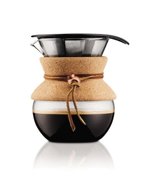 Bodum Pour Over Coffee Maker With Permanent Filter 0.5L - Cork