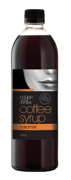 Indulge Your Senses Caramel Coffee Syrup 750ml Monte Coffee Syrup monte-coffee