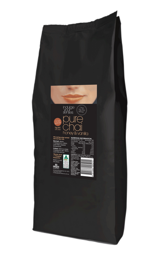 Indulge Your Senses Pure Chai Honey And Vanilla 1kg Bean Alliance Group Pure Chai monte-coffee