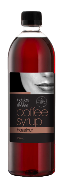 Indulge Your Senses Hazelnut Coffee Syrup 750ml Monte Coffee Syrup monte-coffee