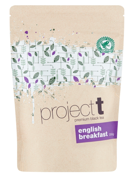Project T English Breakfast Loose Leaf Tea 250g Bean Alliance Group Tea monte-coffee