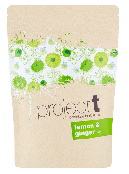 Project T Lemon & Ginger Loose Leaf Tea 150g Bean Alliance Group Tea monte-coffee