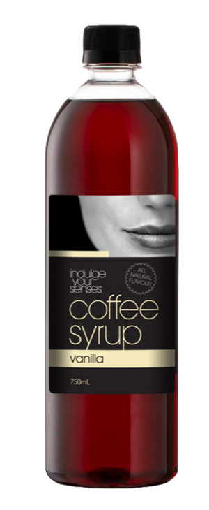Indulge Your Senses Vanilla Coffee Syrup 750ml Monte Coffee Syrup monte-coffee