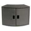 M-Spa Wicker Cabinet Storage Unit - GivhonyHotTubs