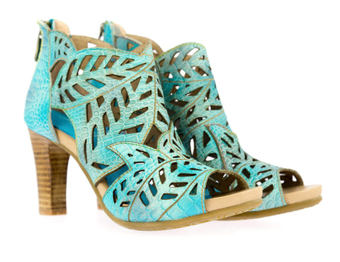 Chaussure ALBANE 04 - 35 / Turquoise - Sandale