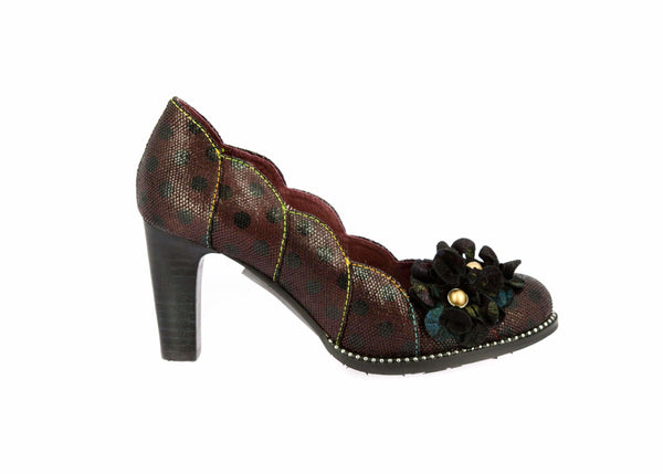 Chaussure ALBANE 208 - 35 / DARKRED - Escarpin