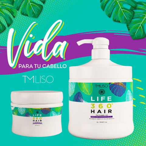 LIFE 360 HAIR 300 ml - Restaurador Instantáneo