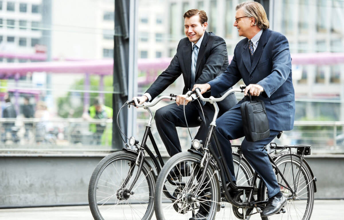 Bike to work - new era of urban transportation