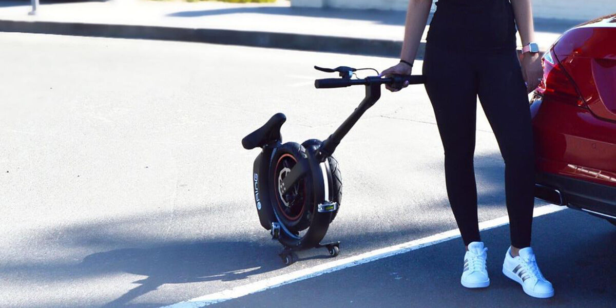 BikeZero Ring The future of micro-mobility