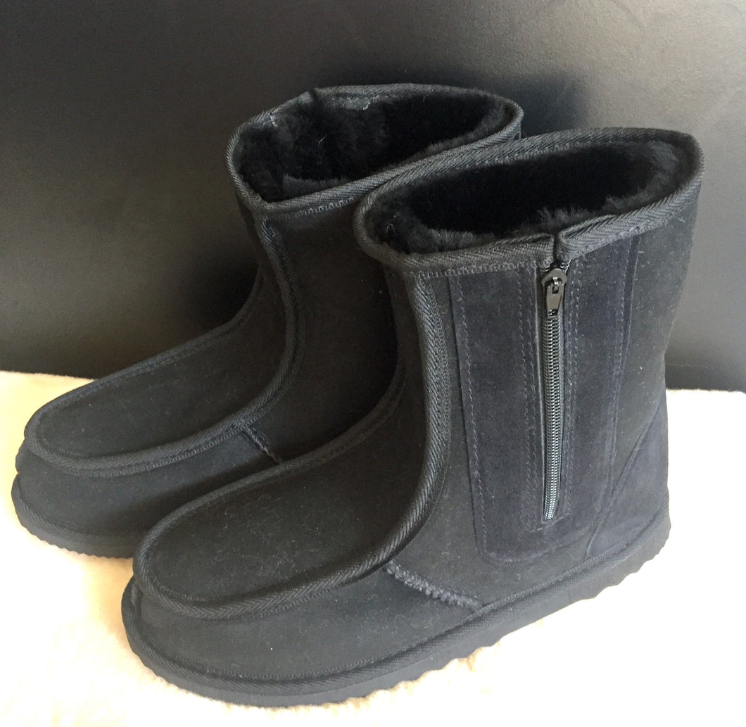 Ladies Short Deluxe Boots with Side Zippers