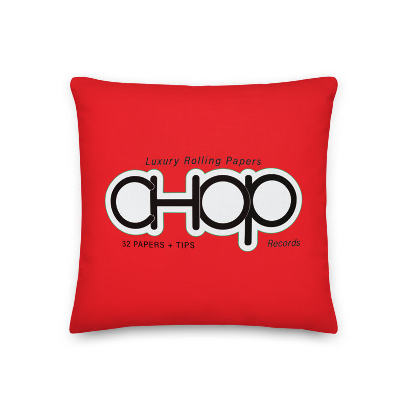 Chop Papers Luxury Pillow