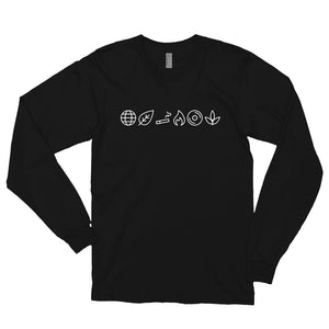 Chop Icons Long Sleeve