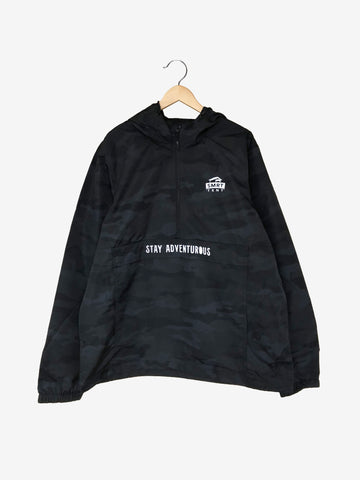 Stay Adventurous Rainy - Black Camo