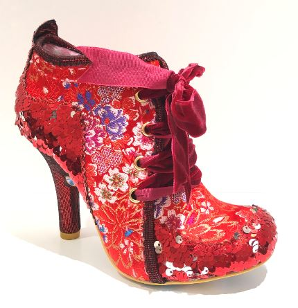 Irregular Choice Abigails 3rd Party Red