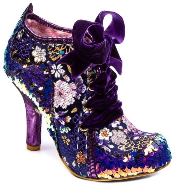 Irregular Choice Abigails 3rd Party Blue