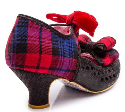 Irregular Choice Apple Spice Black