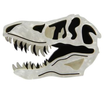 Erstwilder Dinosauria Bad To The Bone Brooch