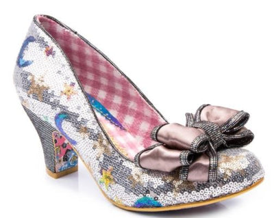 Irregular Choice Ban Joe Silver
