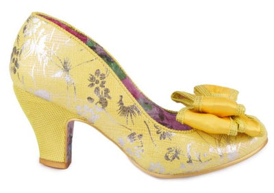 Irregular Choice Ban Joe Yellow