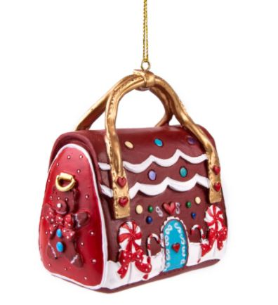 Irregular Choice Xmas House Party Bag Ornament