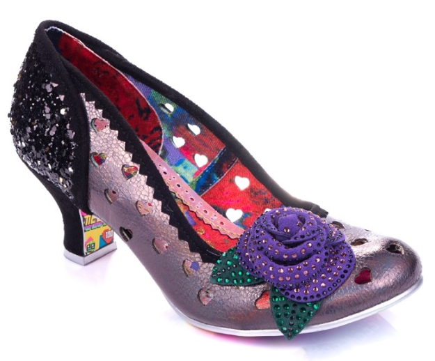 Irregular Choice Biscuit Tin Black