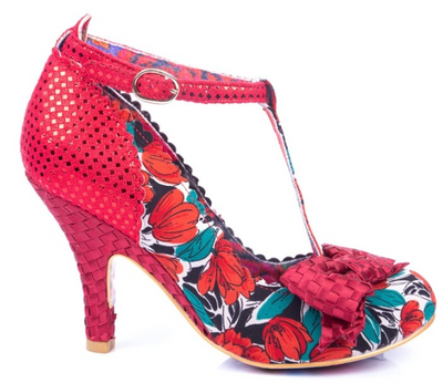 Irregular Choice Bloxy Red