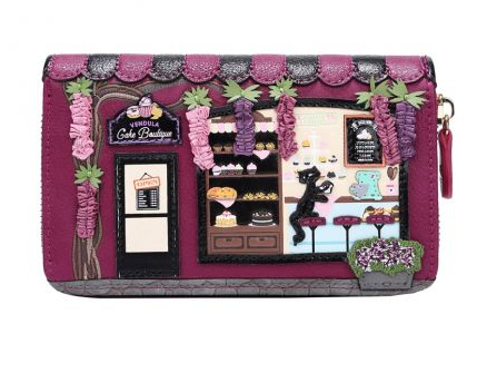 Vendula Cake Boutique Medium Ziparound Wallet
