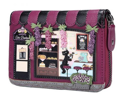 Vendula Cake Boutique Small Ziparound Wallet