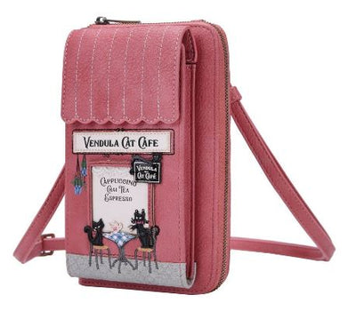 Vendula Cat Café Phone Wallet
