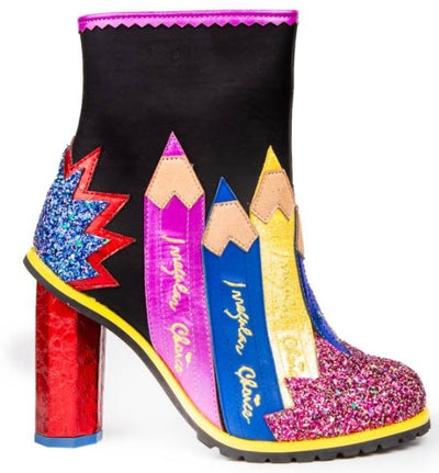 Irregular Choice Fun and Games Chalk It Up