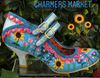 Irregular Choice Charmers Market Blue