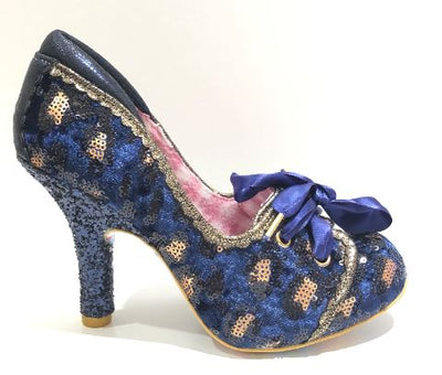 Irregular Choice Chips And Gravy Navy