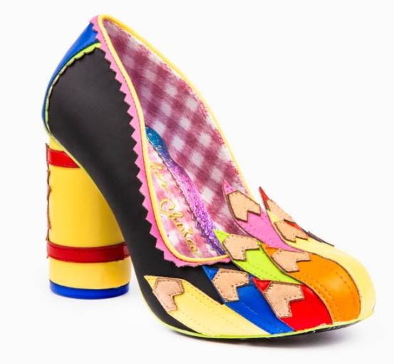 Irregular Choice Fun and Games Colour It In