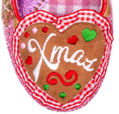 Irregular Choice Xmas Cookies For Santa
