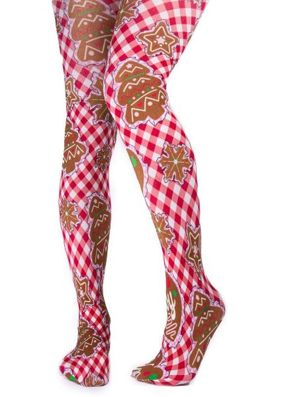 Irregular Choice Xmas Cookie Tights
