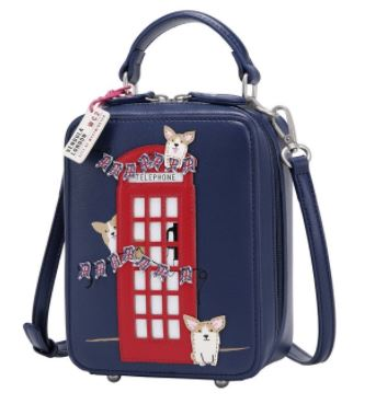Vendula London Corgis London Bus Crossbody