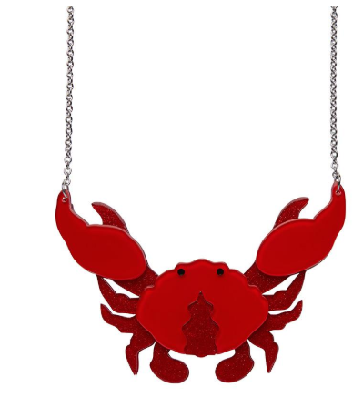 Erstwilder FF20B Crustacean Elation Necklace