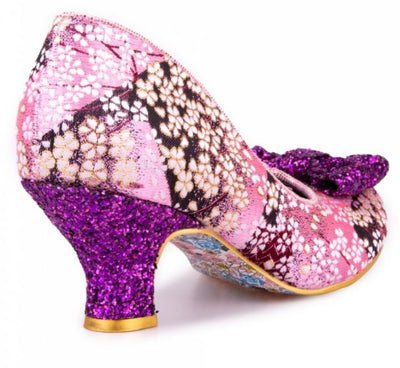 Irregular Choice Dazzle Razzle Pink